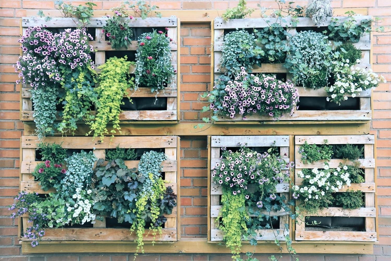 Uniek woonidee: verticale tuin in huis zonder onderhoud! hip orgnl