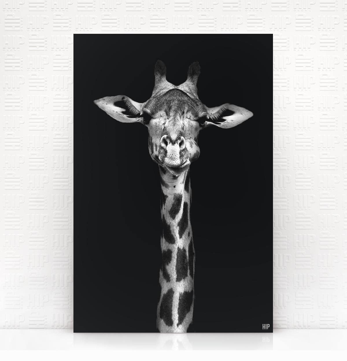 Wanddecoratie Schilderij Giraf