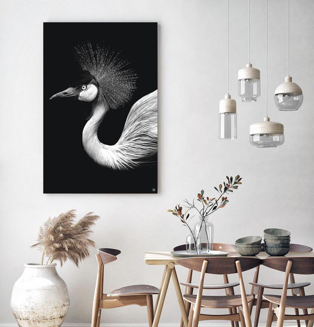 Wanddecoratie Schilderij Vogel