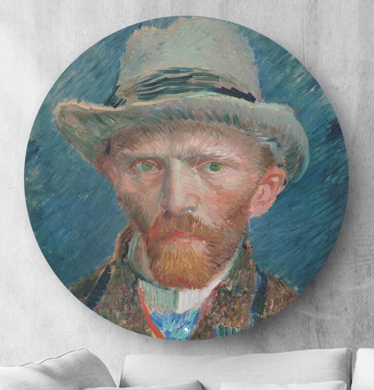 HIP ORGNL Zelfportret Vincent van Gogh Wanddecoratie