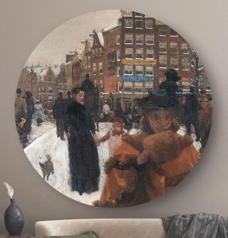 HIP ORGNL De Singelburg bij de Paleisstraat in Amsterdam Front
