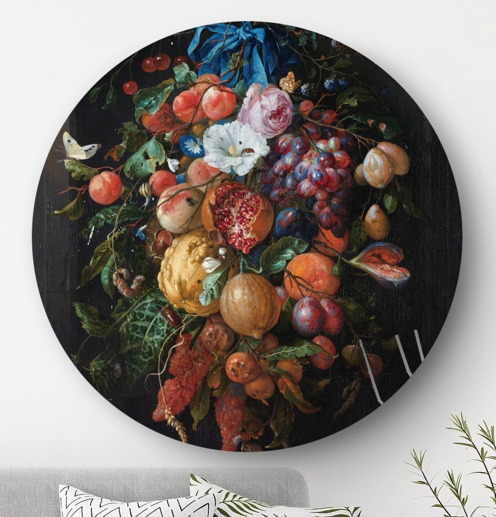 HIP ORGNL Festoen van vruchten en bloemen Front