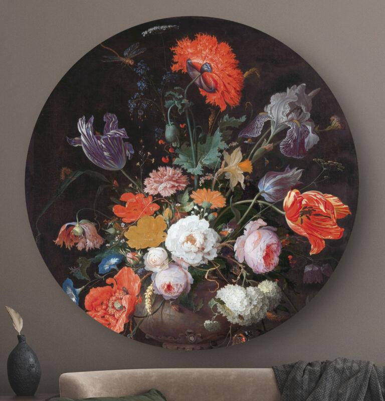HIP ORGNL Stilleven met bloemen en een horloge