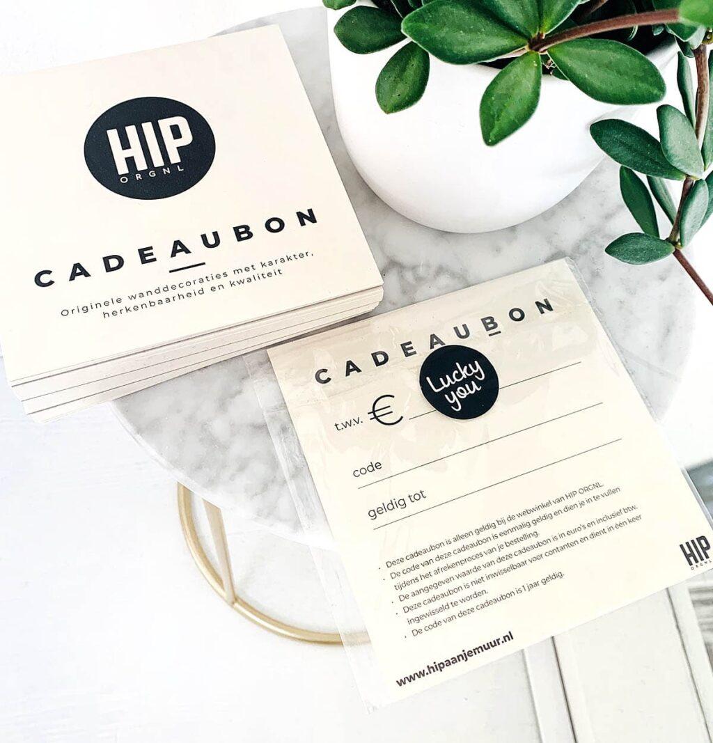 HIP ORGNL Cadeaubon