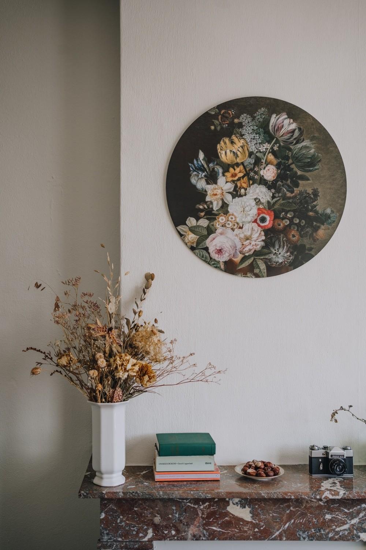HIP ORGNL sfeer wandcirkel bloemen