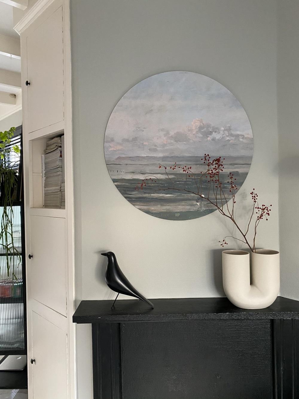 HIP ORGNL sfeer Zee van Daubigny wandcirkel