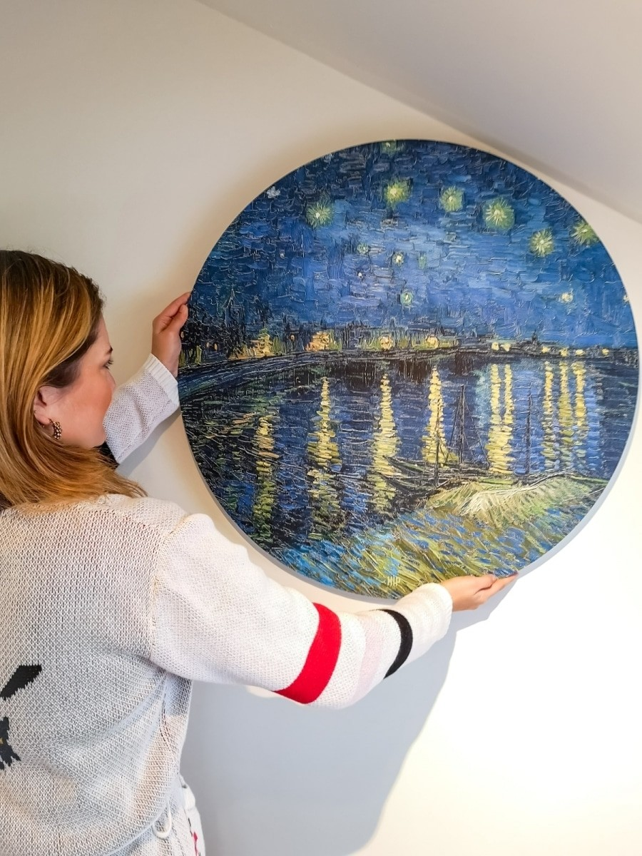 HIP ORGNL sfeer wandcirkel Vincent van Gogh