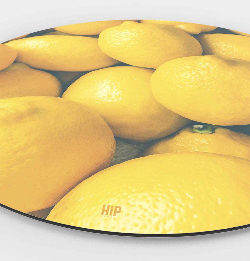 HIP ORGNL Lemons Wandcirkel Side
