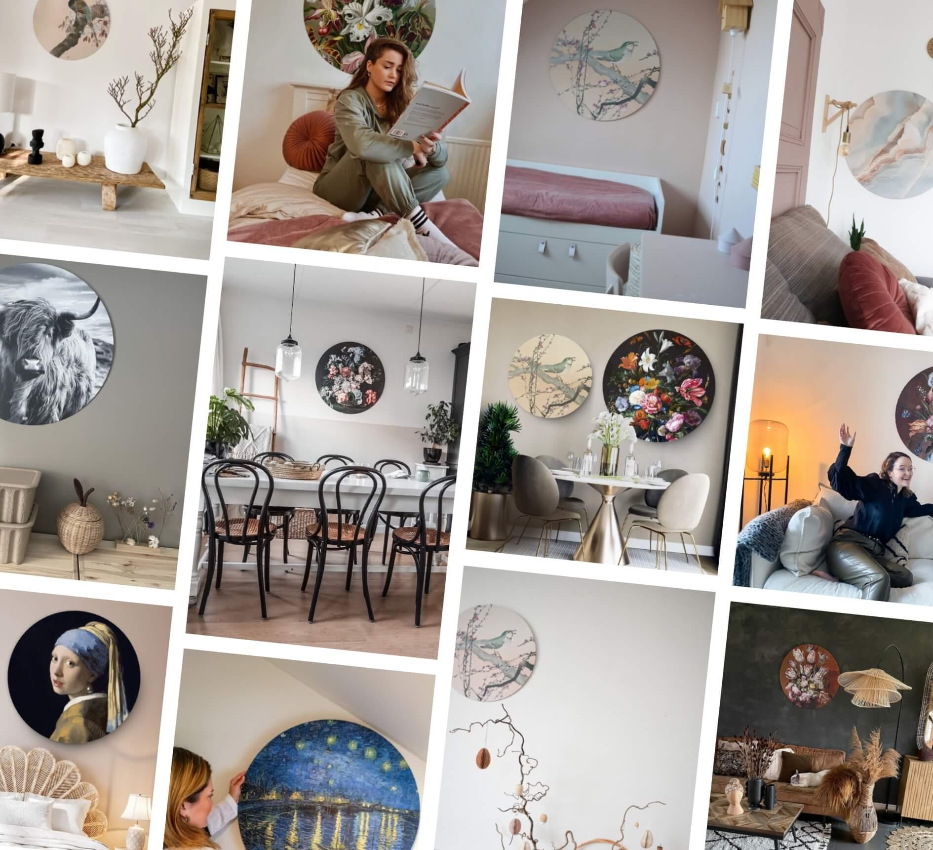 Bekijk Hier Wanddecoraties Bij Onze Klanten HIP